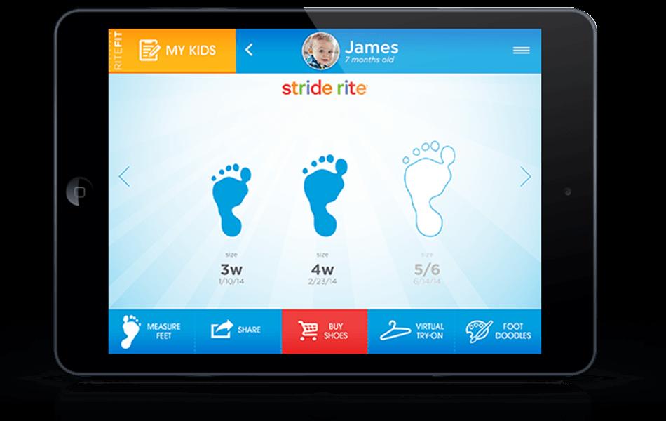 Nieuwe app die jouw schoenmaat voorspelt!